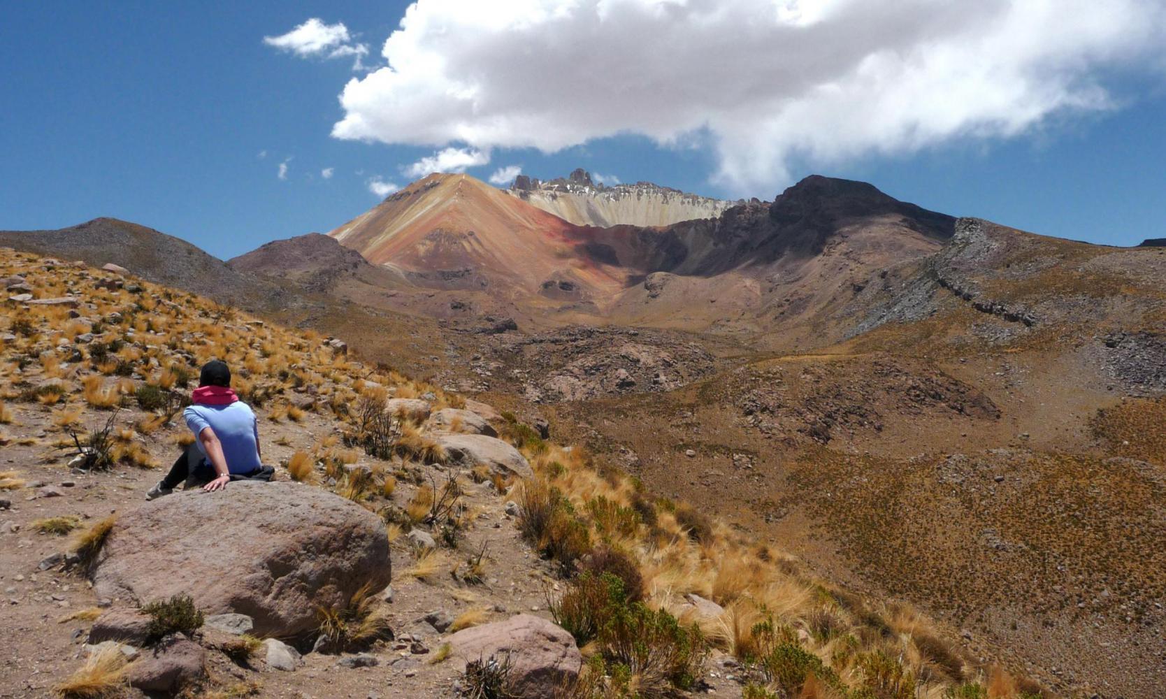 Tunupa volcan désert de sel Uyuni