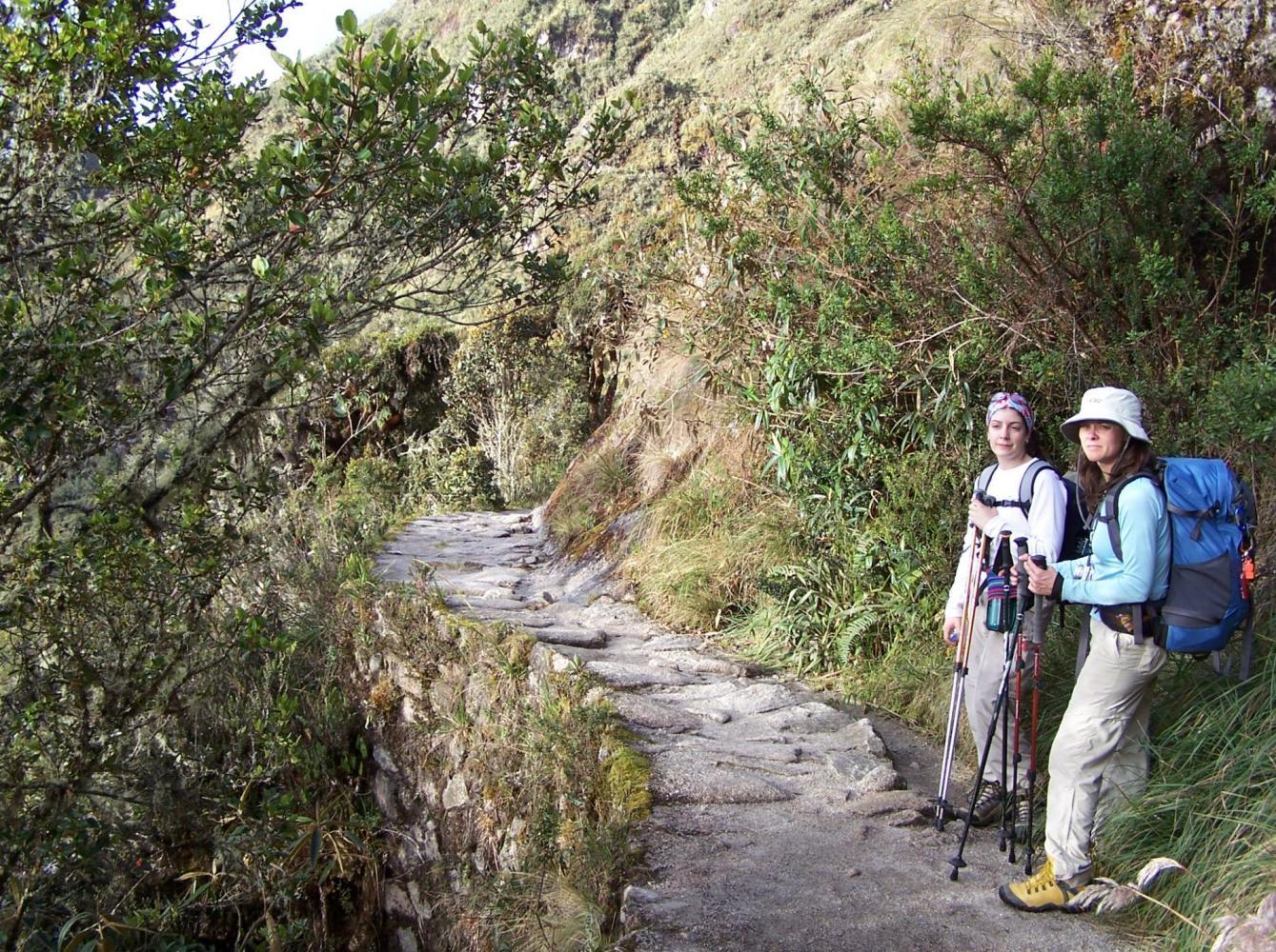 Sur l'Inca trail