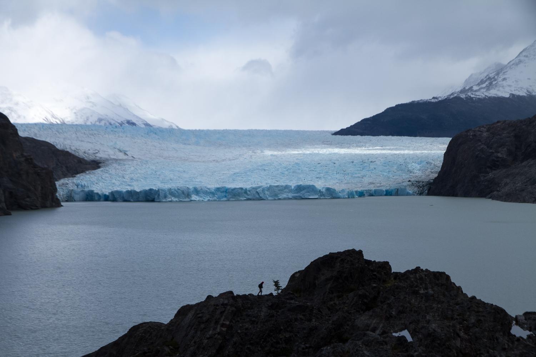 torres del paine glacier trekking
