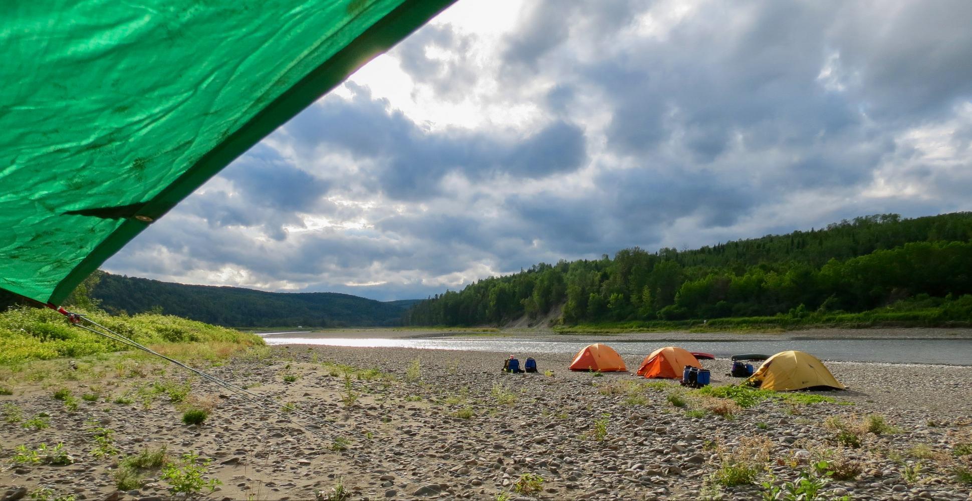 Camping sur la Kedwick