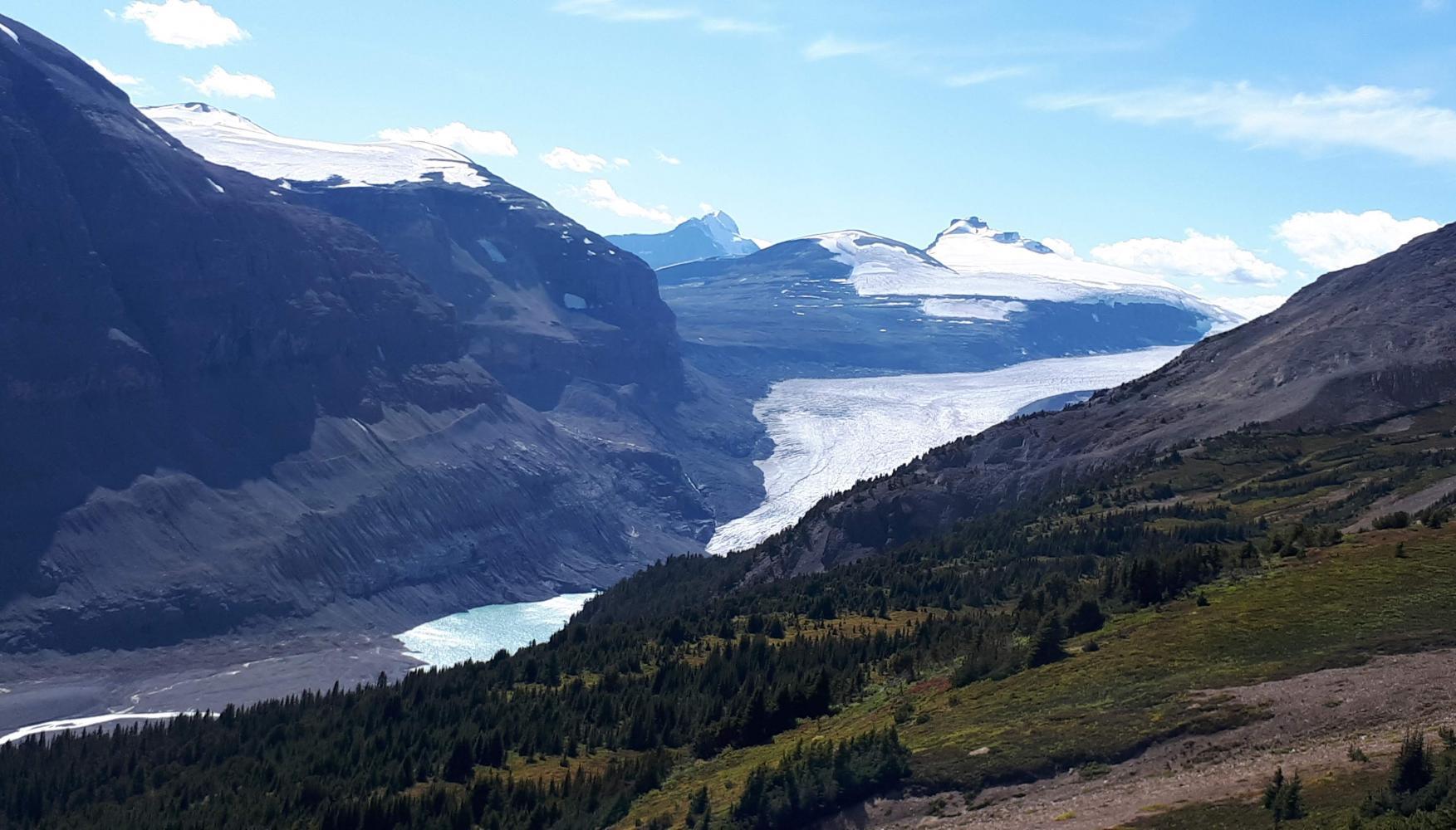 glacier rocheuses