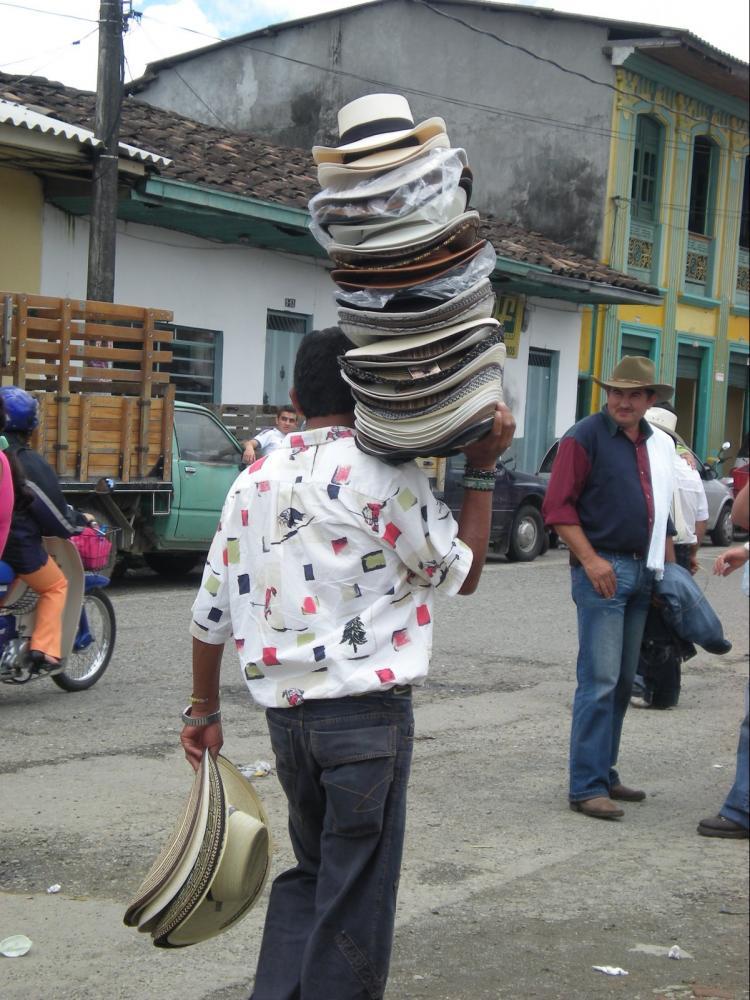 chapeau colombie voyage découverte