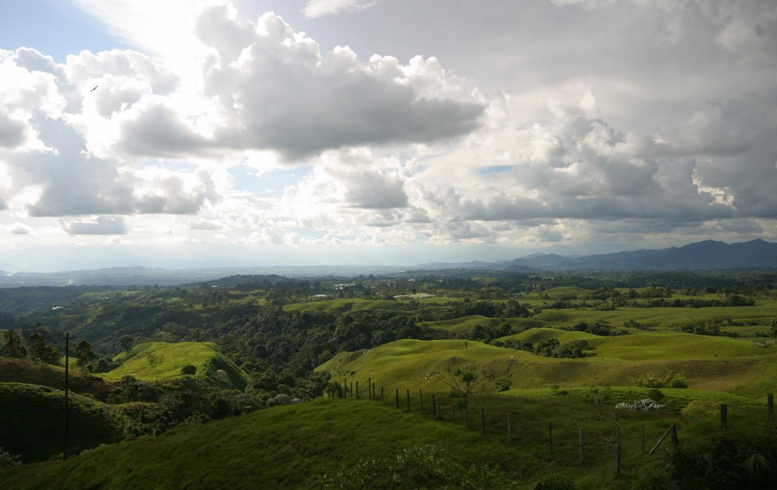campagne randonnée colombie