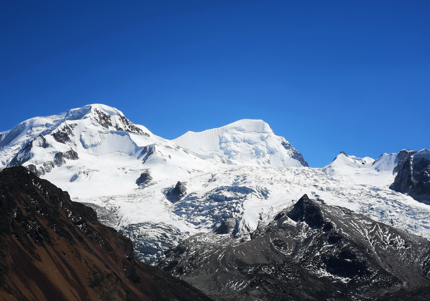 sommet chachacomani bolivie trek