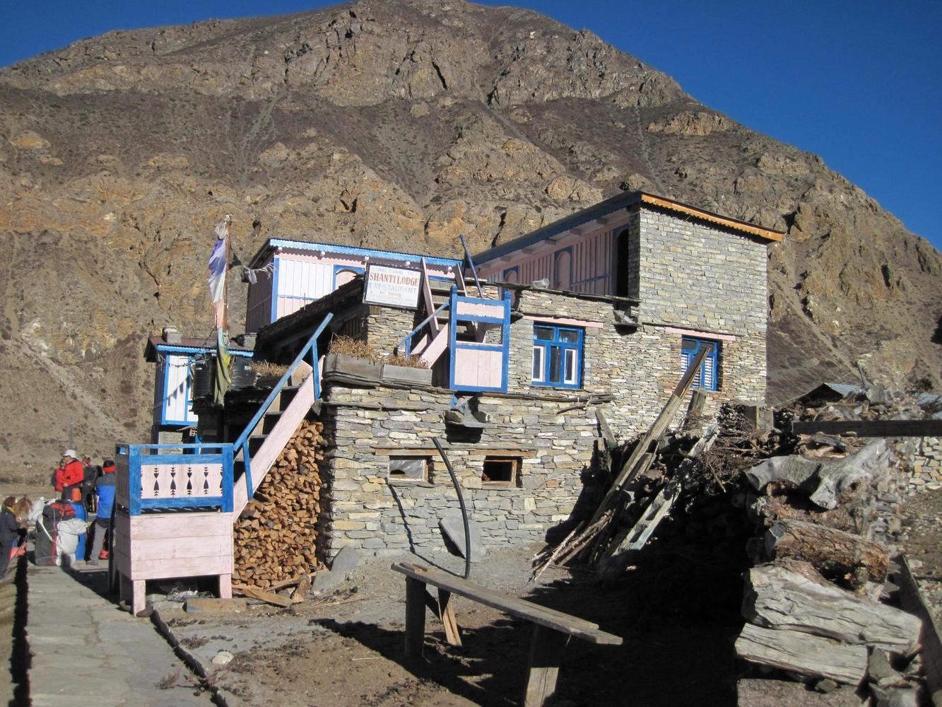 Lodge de Naar, Nepal - Jean-Luc Moreau