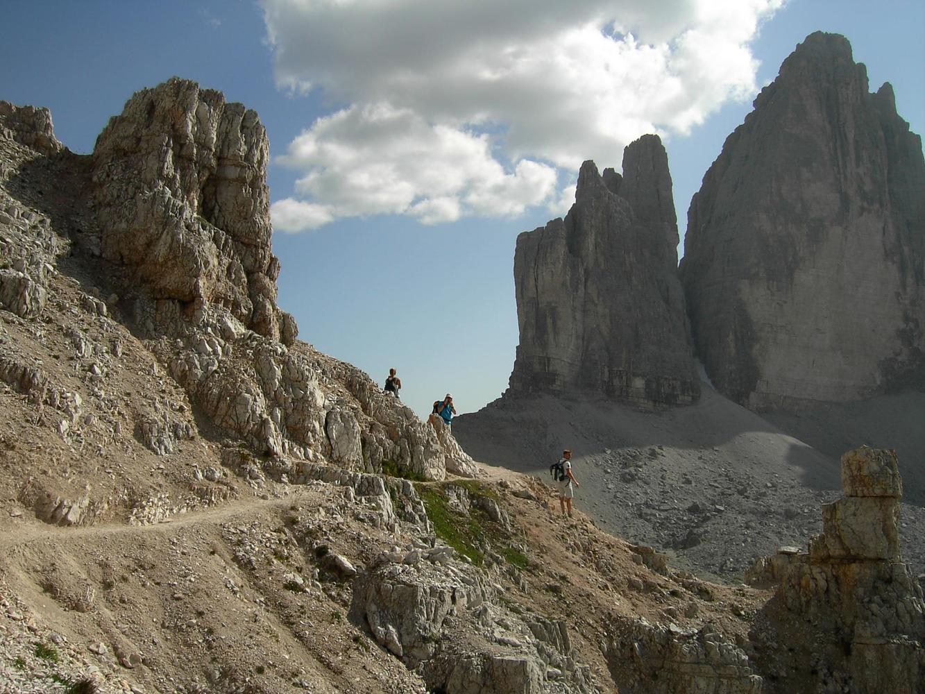 Entre le Paterno et la face nord des Tre Cime, Dolomites - Géraldine Dequier