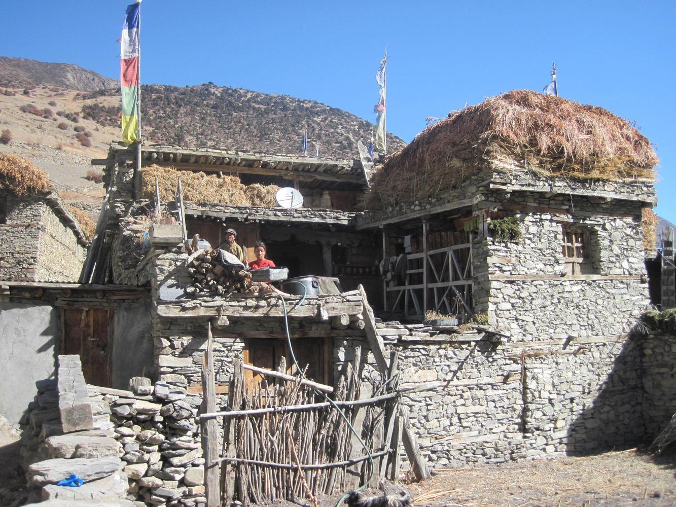 Khangsar, Naar, Nepal - Jean-Luc Moreau