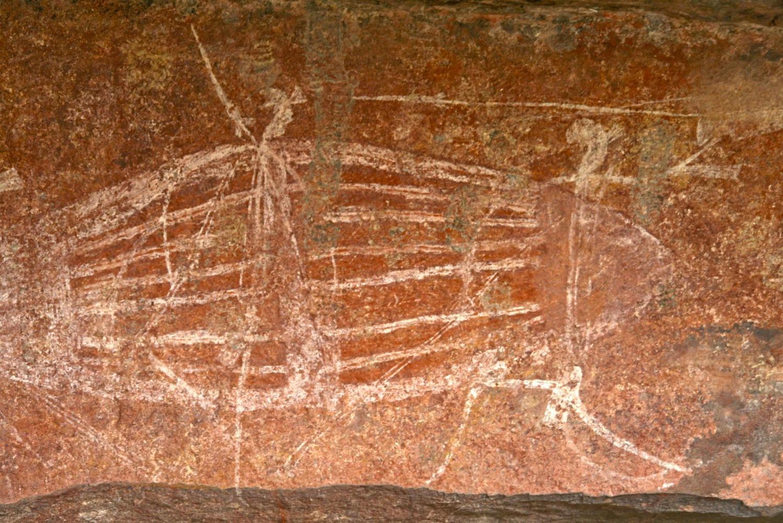 Art rupestre, Darwin, Australie - Claire Spaïni