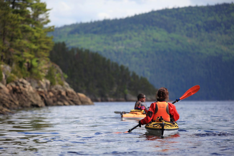 Kayak fjord Saguenay séjour