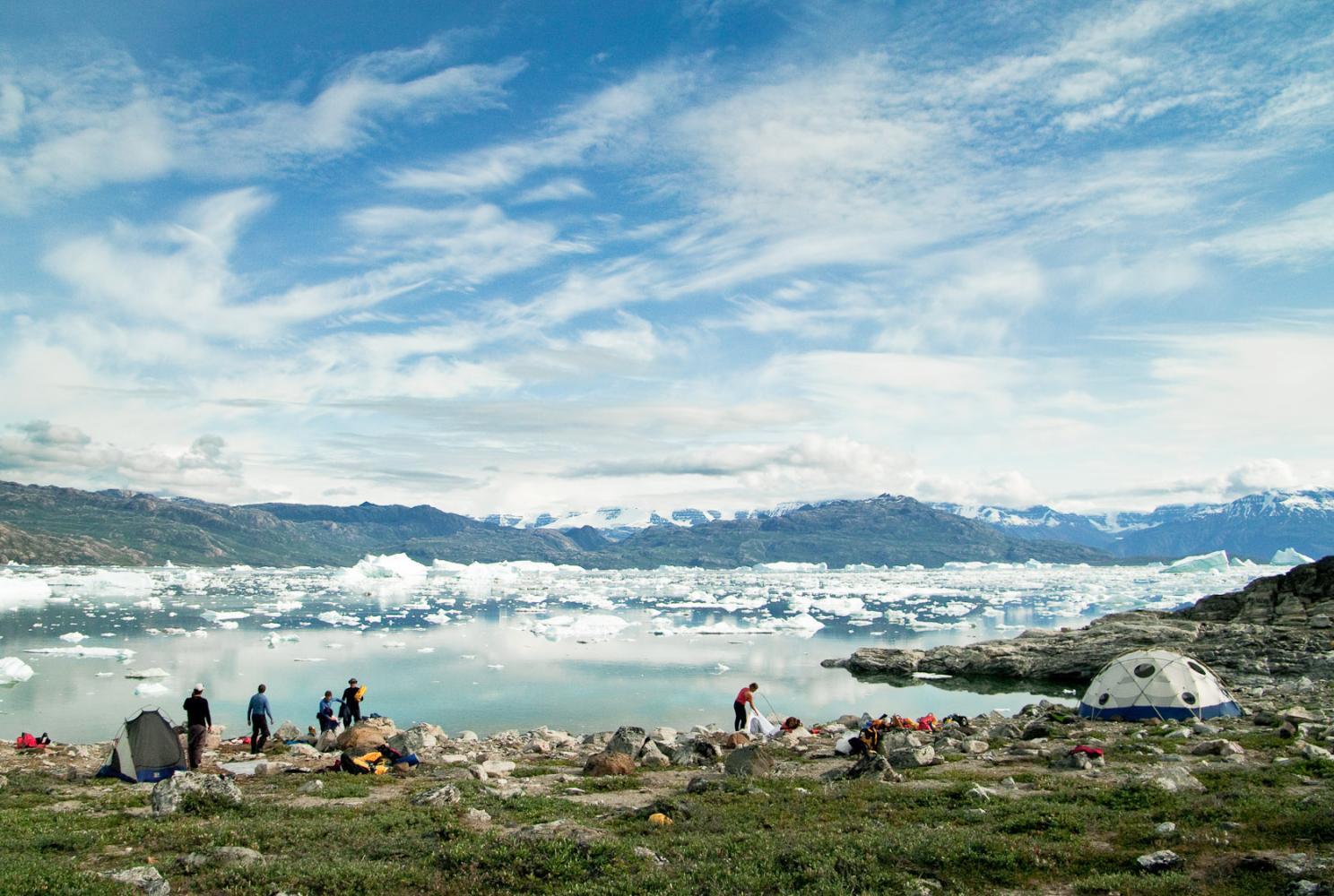 Trek et Kayak au Groenland Karavaniers