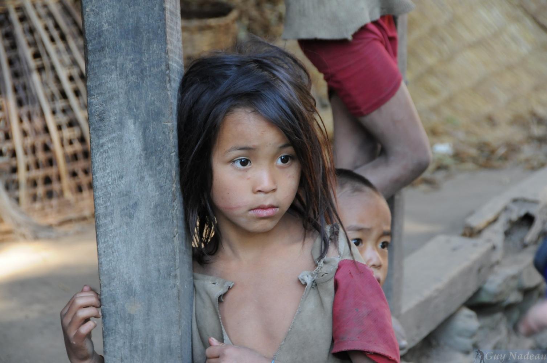 Rencontre Népal enfant