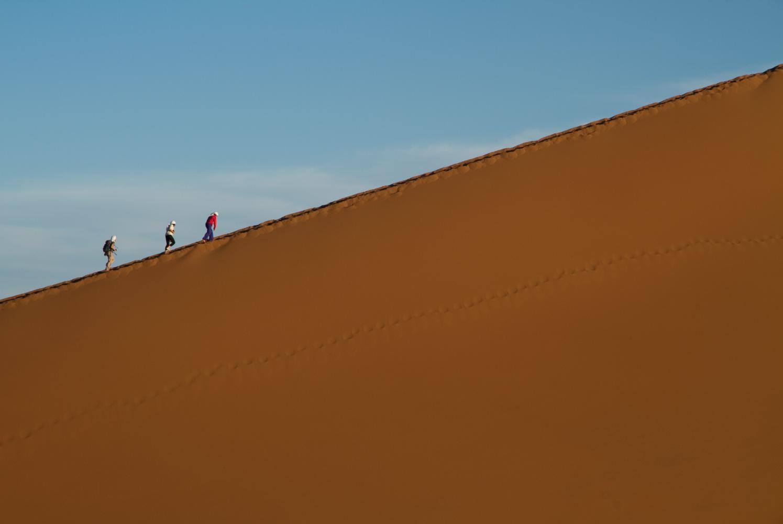 monter la grande dune