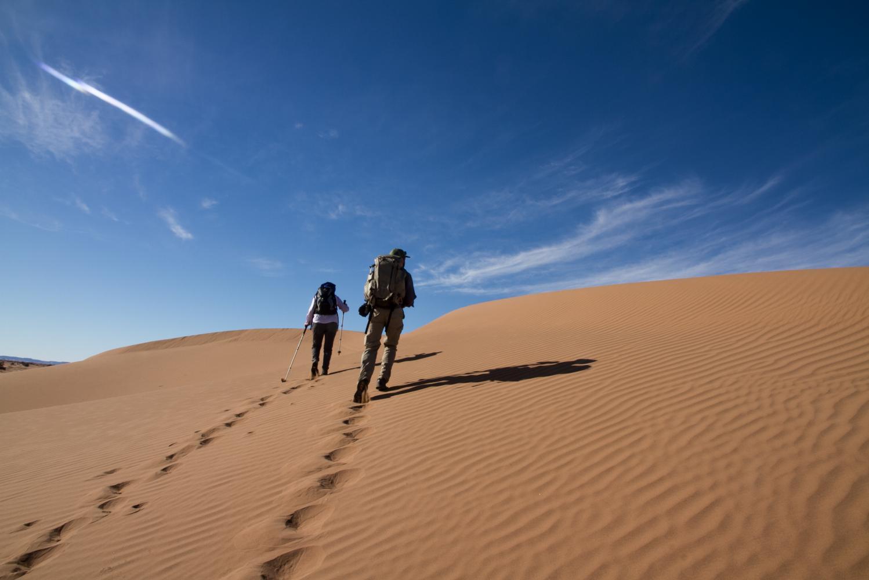 monter la dune