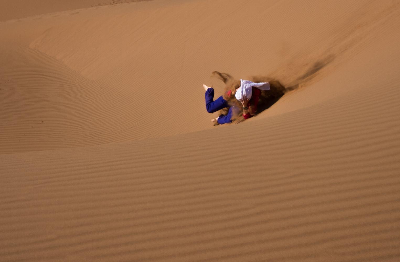 descendre la dune