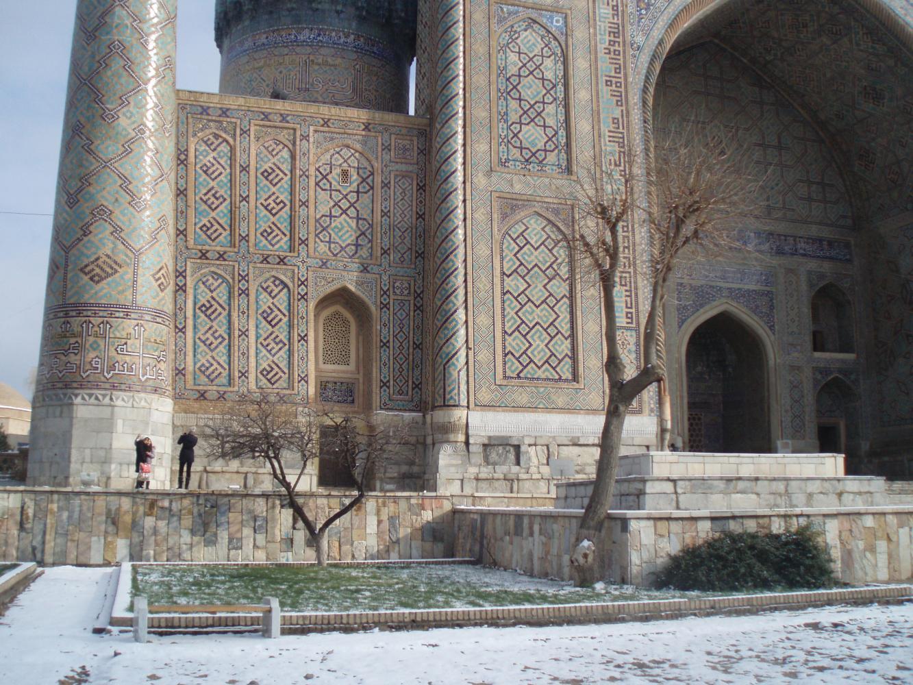 Trek en Ouzbékistan