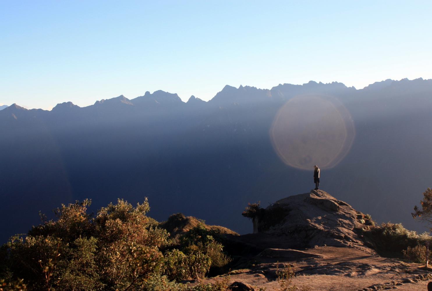 matin sentier de l'inca