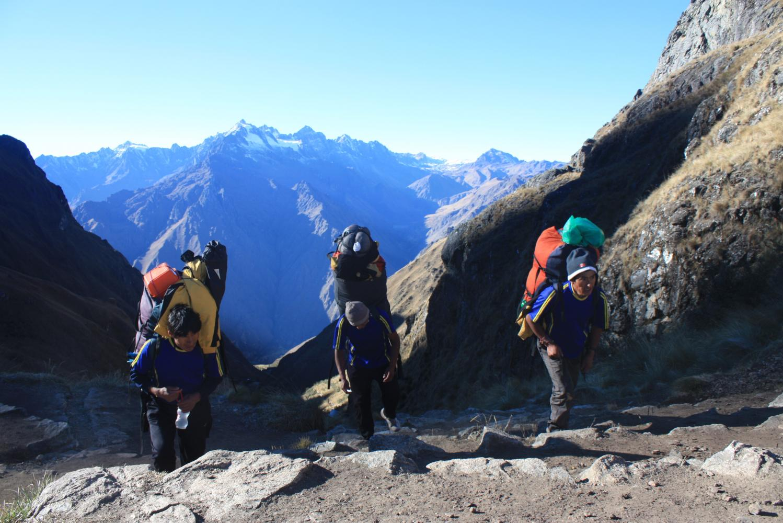 porteurs col inka trail