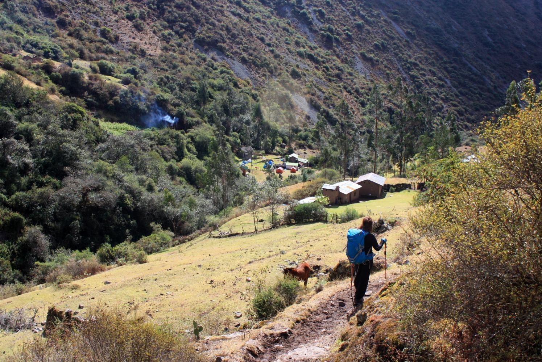 Salcantay village