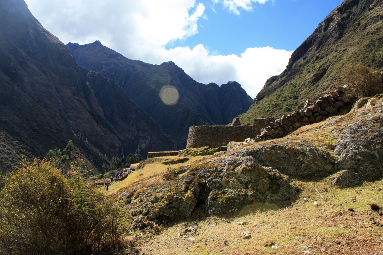 Pérou salcantay camino inca jonction