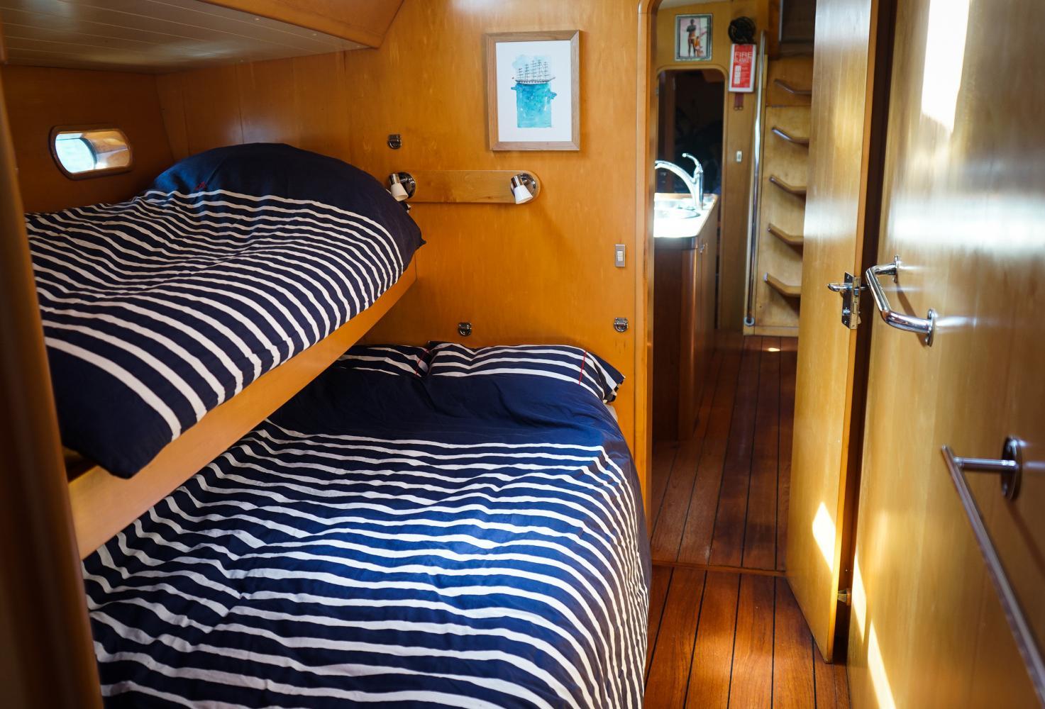 cabine du voilier
