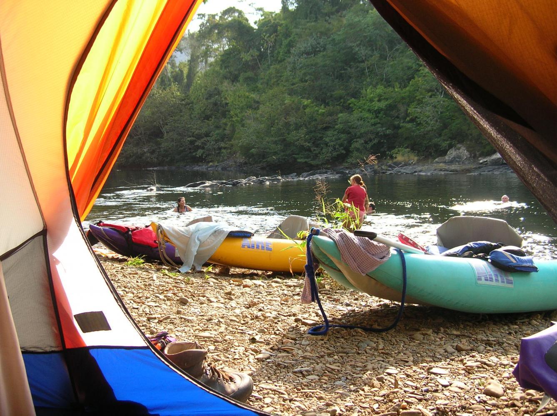 Kayak au Belize avec Karavaniers