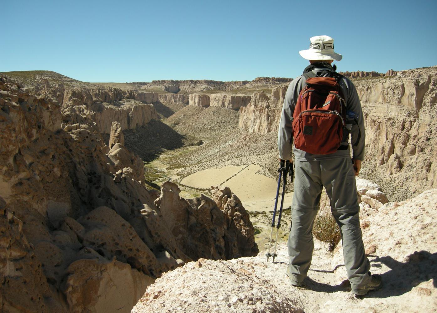 canyon trek bolivie