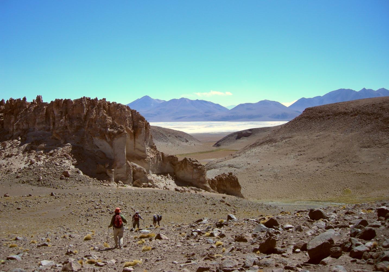 trek bolivie volcan
