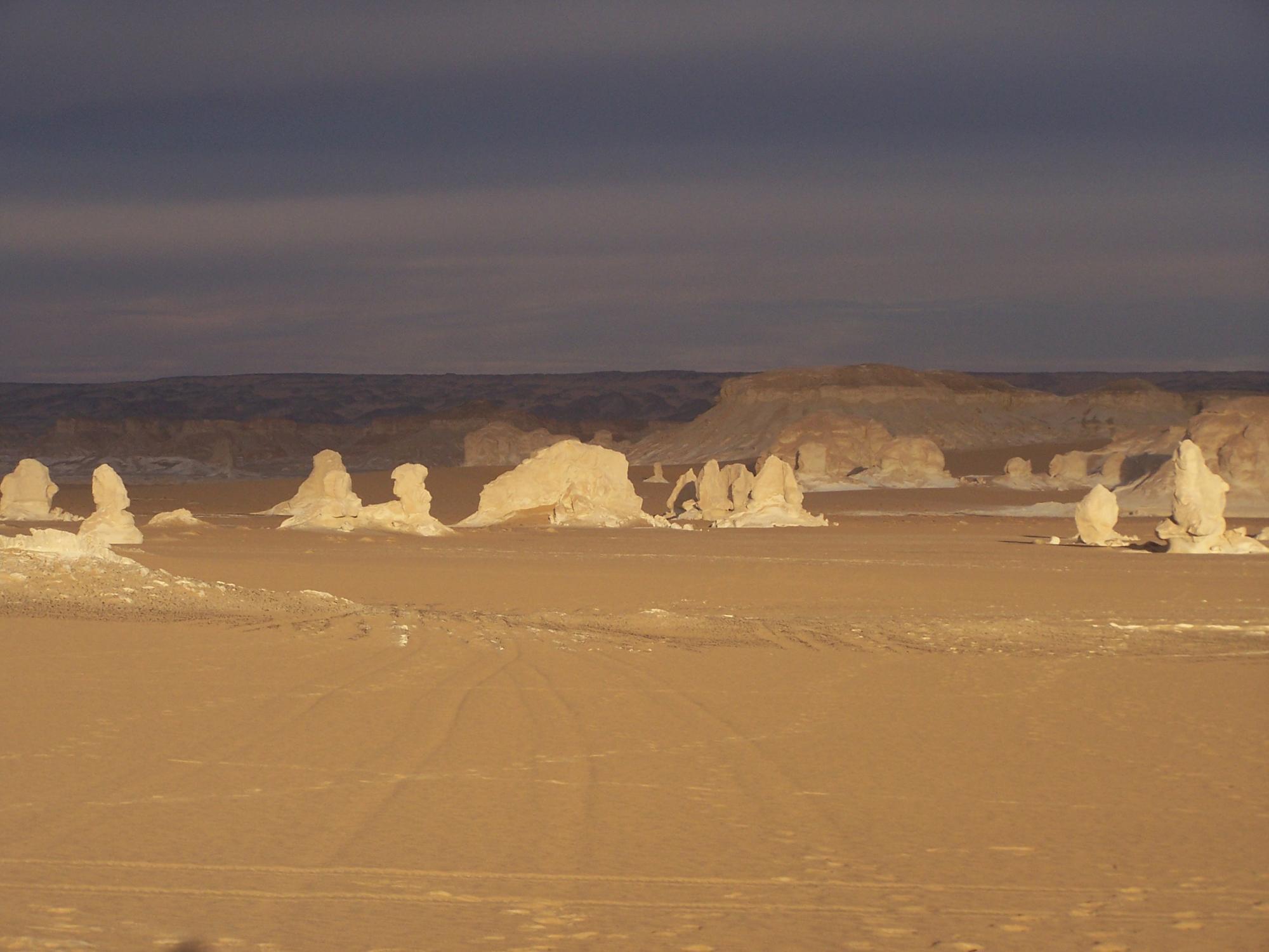 © Trek Égypte désert blanc