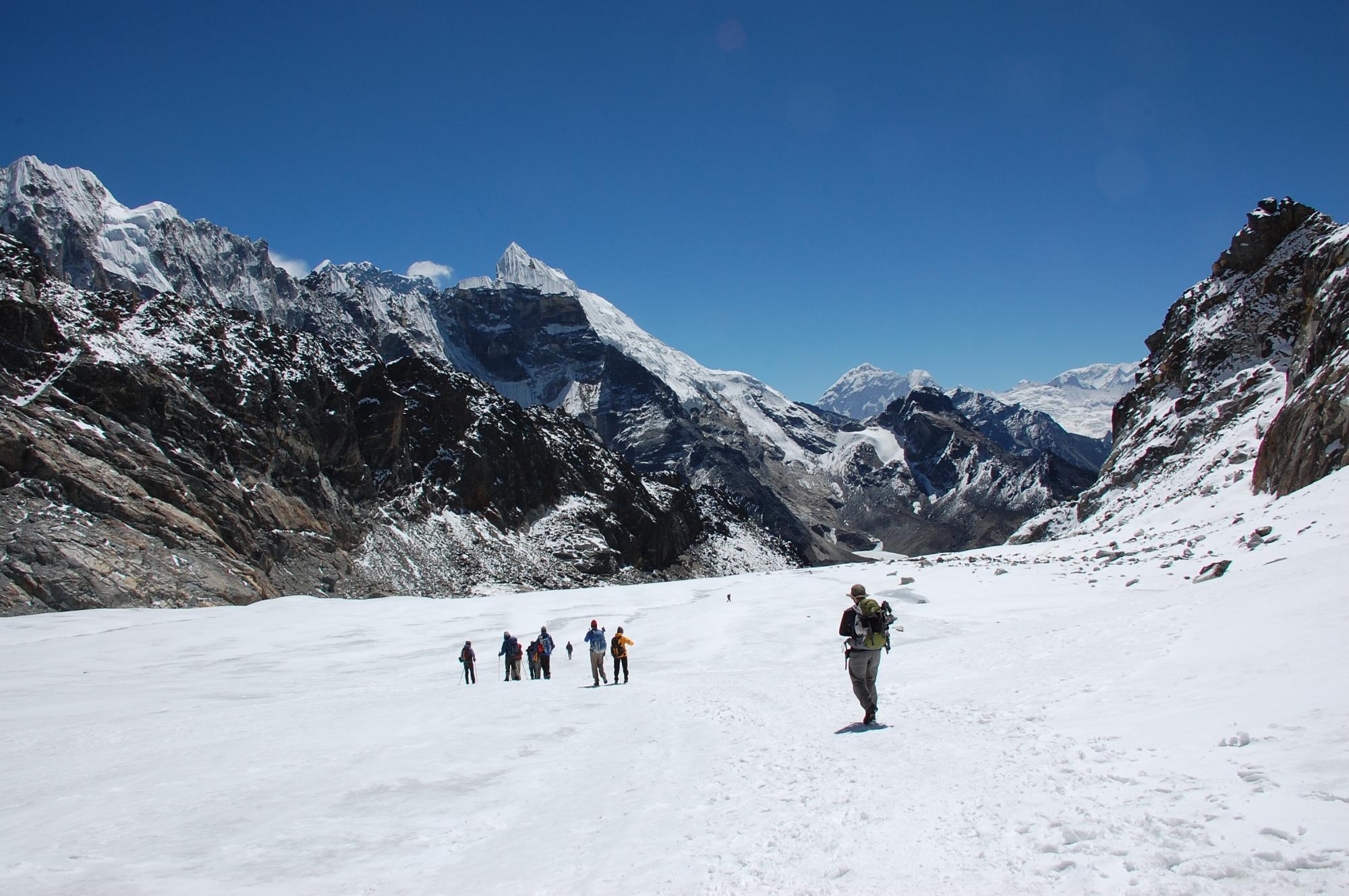 © Randonée camp de base Everest Népal