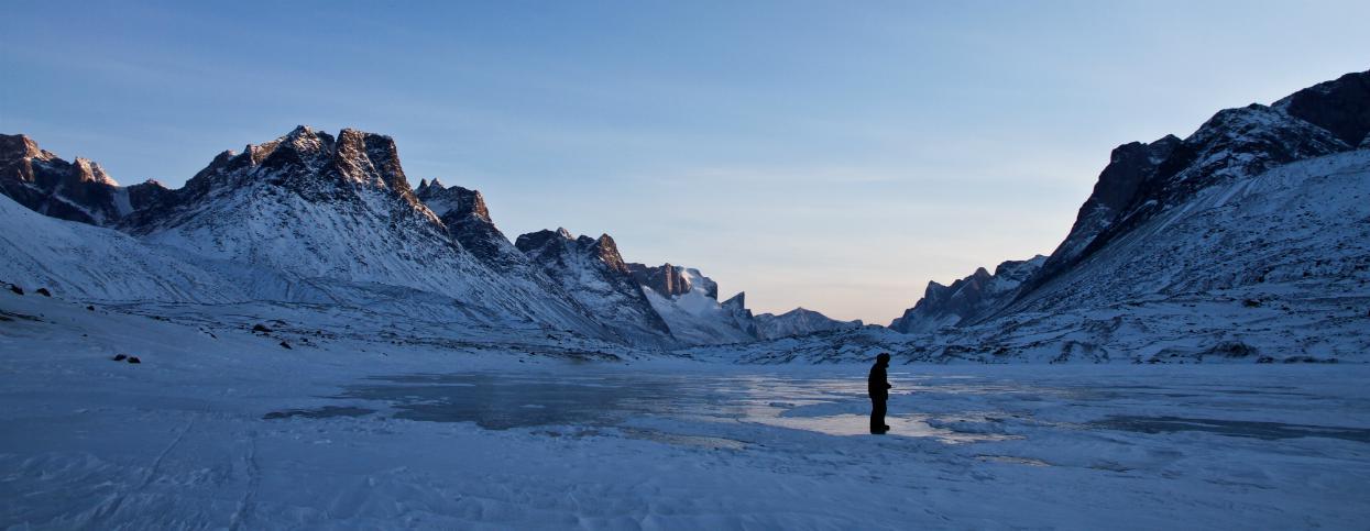 © Expédition polaire en terre de Baffin