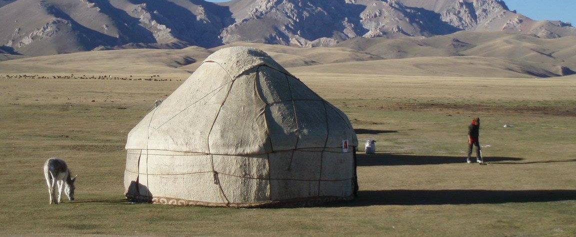 © trek au Kirghizstan