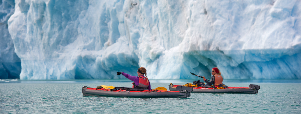 © Kayak de mer au Groenland