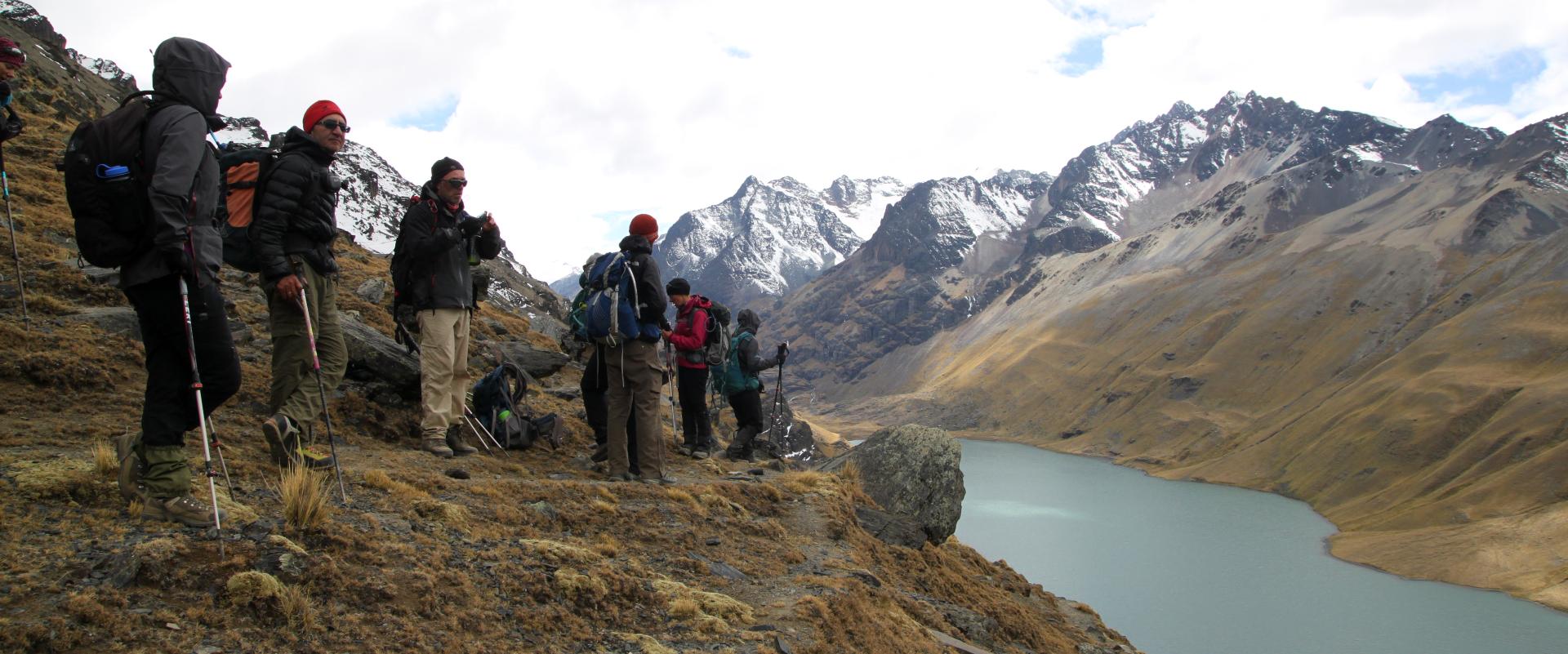 © lacs de montagne bolivie