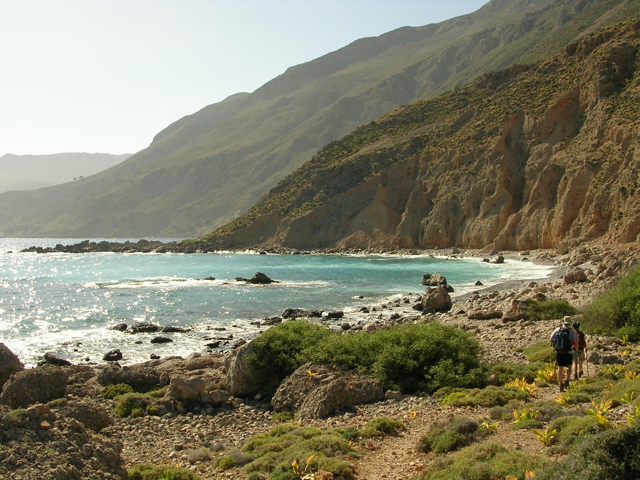 trek liberté Crète