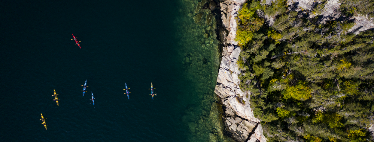 © Kayak fjord St-Pancrace Baie-Comeau