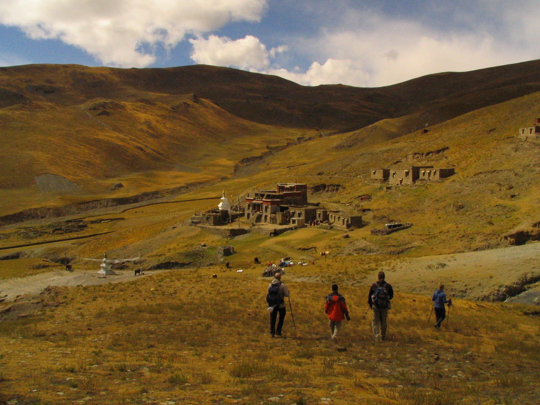 © voyage de randonnée au Tibet