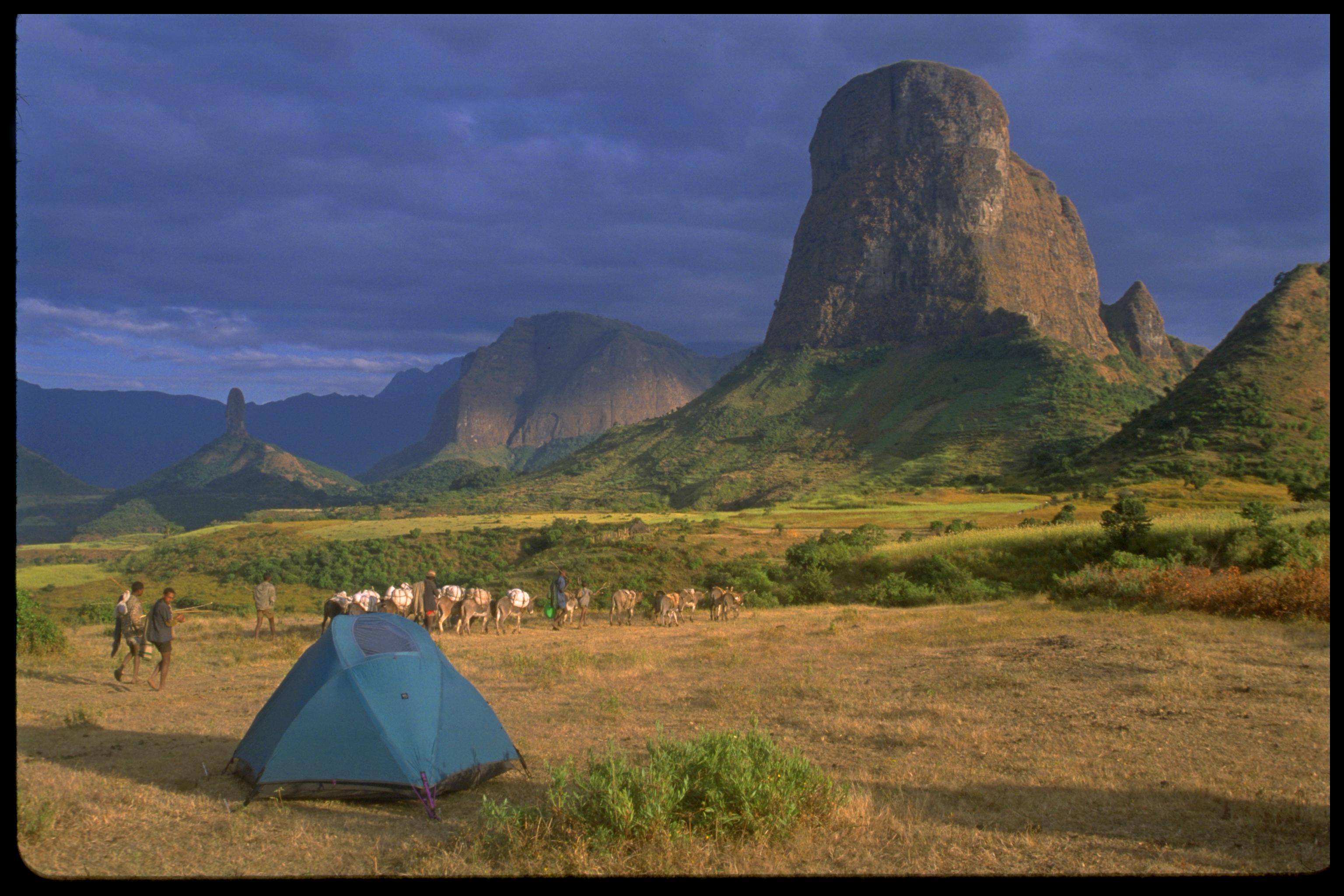 trek en Éthiopie