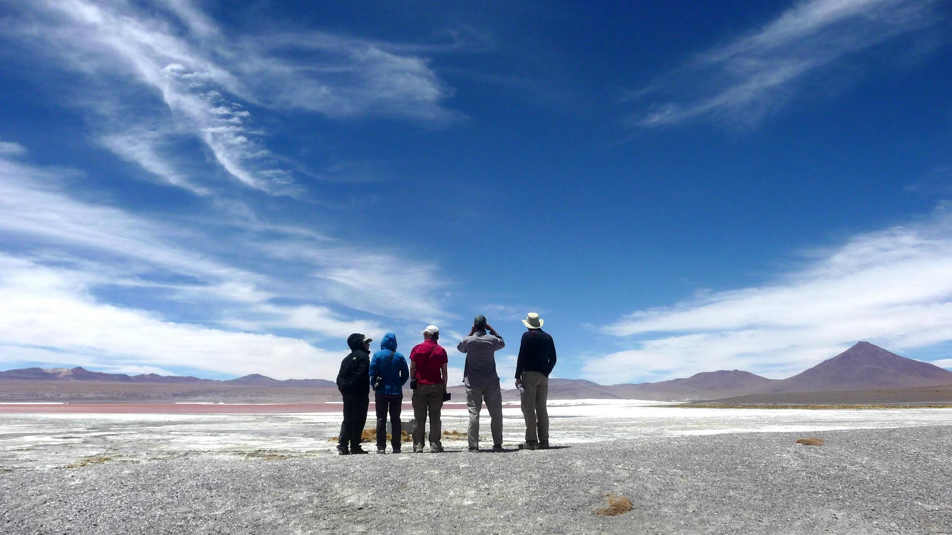 Un petit trek dans le désert !