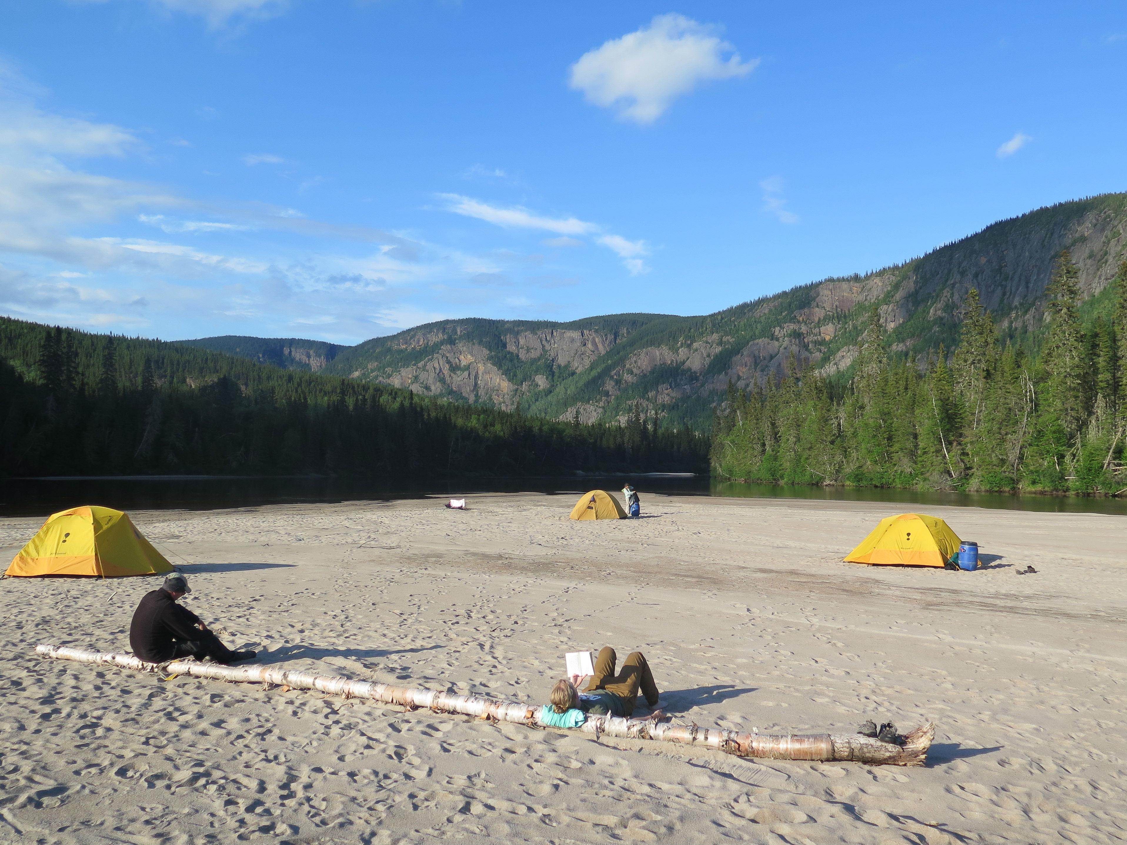 Campement plage