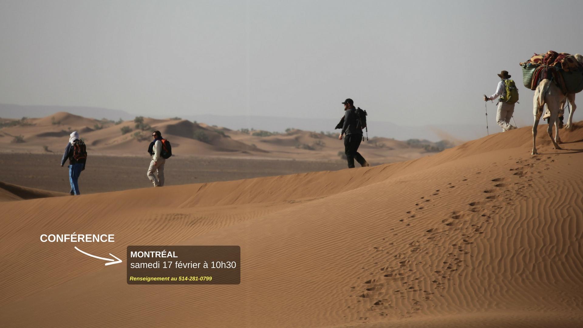 Un trek au Maroc