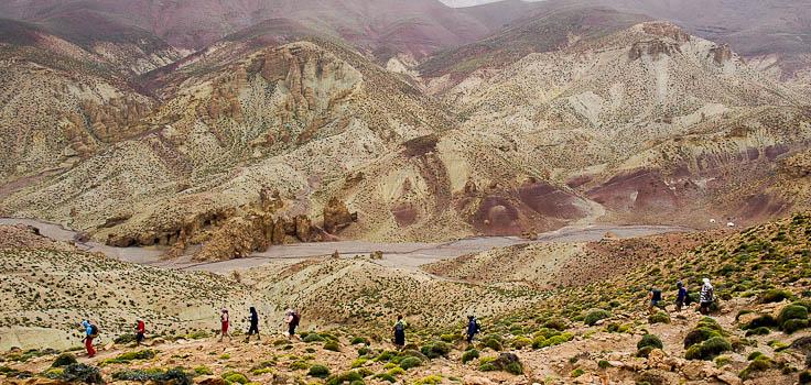 © trek haut atlas marocain