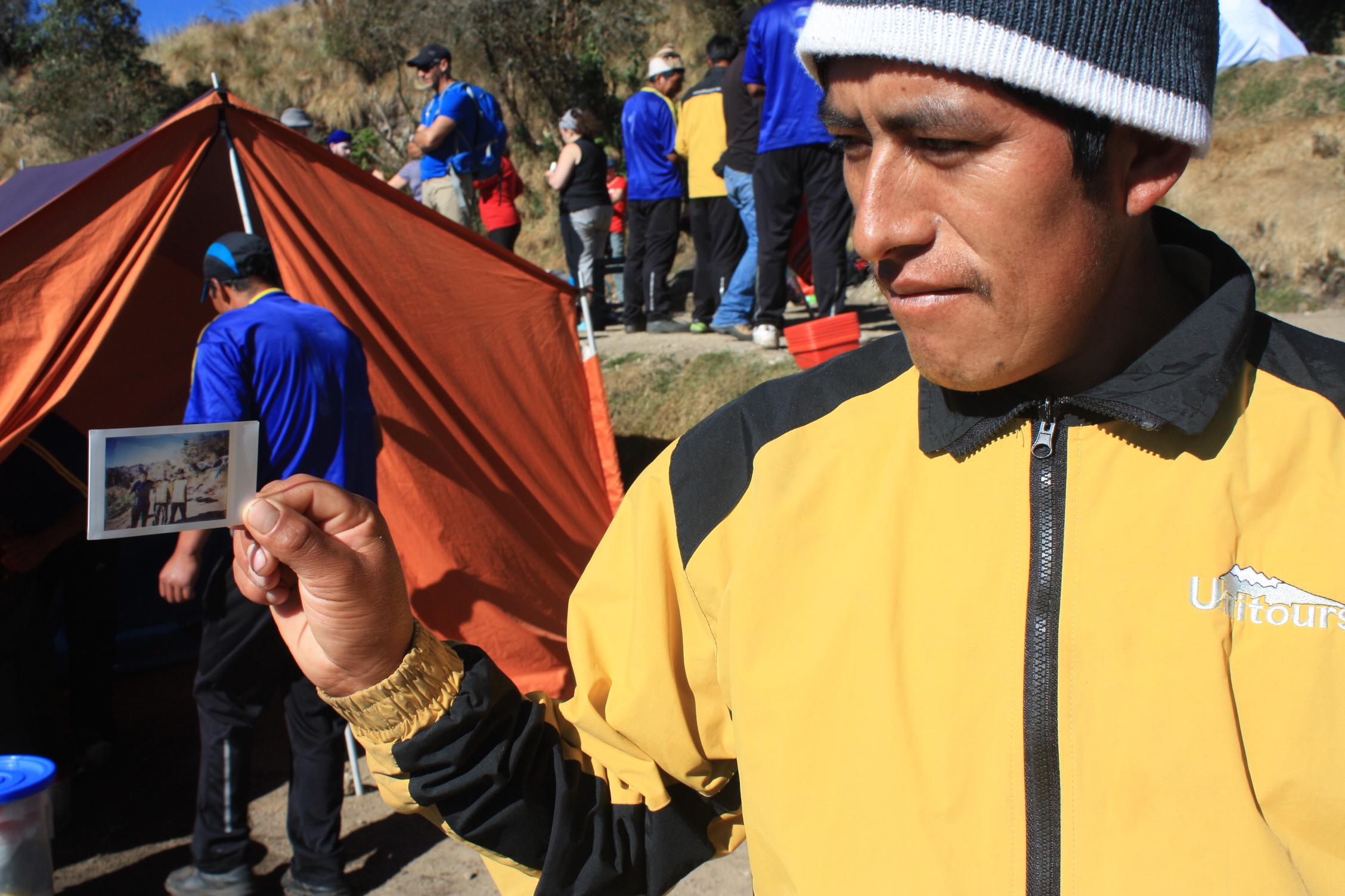 © porteur sherpa perou inka trail camino inca sentier