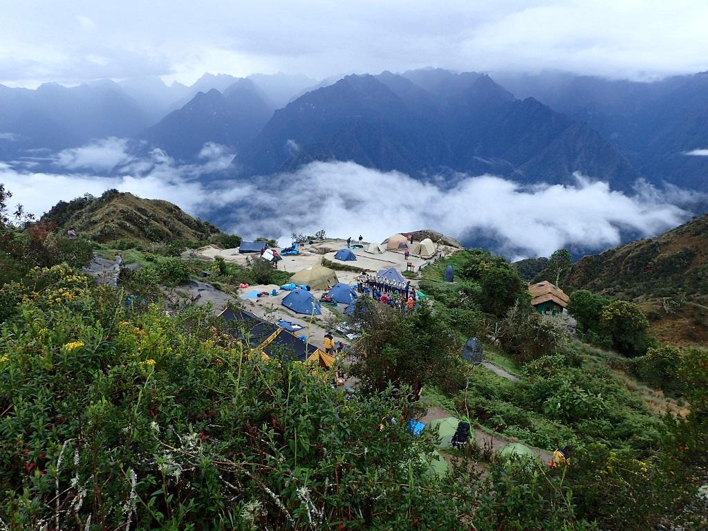 © campement inka trail