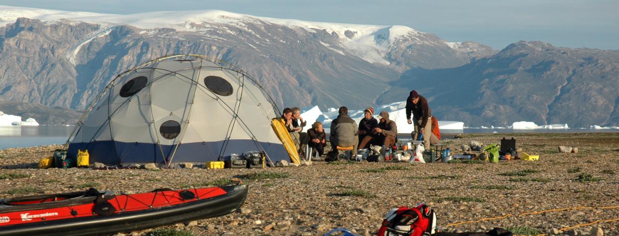 © Trek et kayak au Groenland